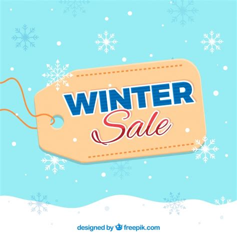 wallpaper free sles online winter sale background with tag vector free download