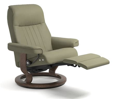 stressless tables for recliners stressless crown legcomfort power footrest recliner chair
