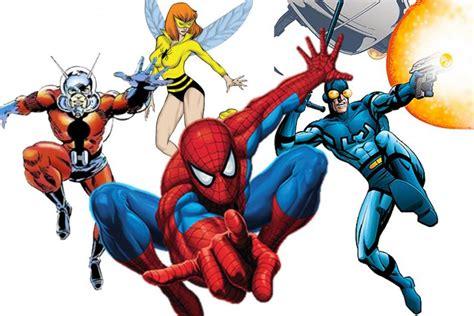 imagenes retro super heroes repasamos 10 superh 233 roes insectos del mundo del c 243 mic