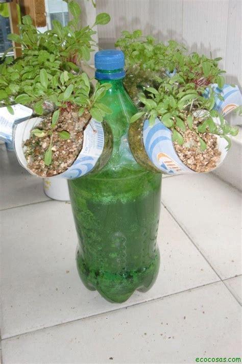 garden in a bottle macetas con botellas pl 225 sticas ecocosas
