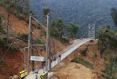 jembatan gantung palopo toraja  dibangun kementerian
