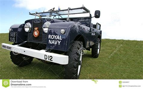 navy land rover royal navy landrover editorial photography image 32658897