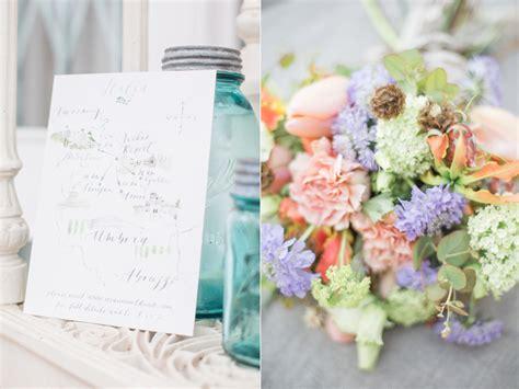 fun fresh spring wedding ideas 187 cecelina photography