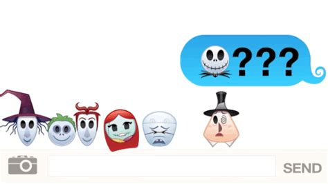 Disney The Nightmare Before As Told By Emoji quot the nightmare before quot as told by emoji is the most adorably festive thing you ll see