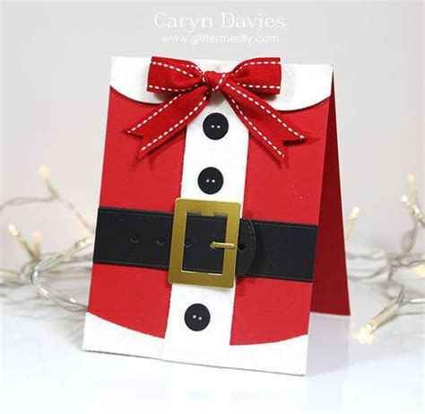 hand made christmas out of paper 33 easy to make santa crafts all about