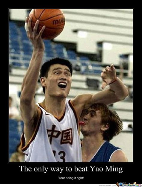 Meme Yao - yao ming by mehtrollu meme center