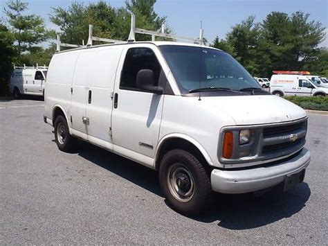 how to work on cars 1997 chevrolet 3500 security system buy used 1997 chevy 3500 gas cargo van ready to work in baltimore maryland united states