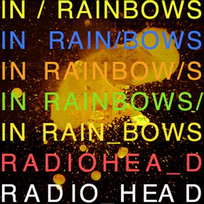Radiohead In Rainbows by News Exclusive In Rainbows Official Cover