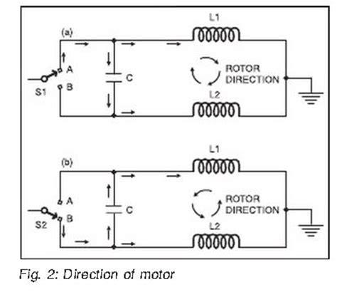 ac motor direction capacitor new 3dof flightsim racing platform project