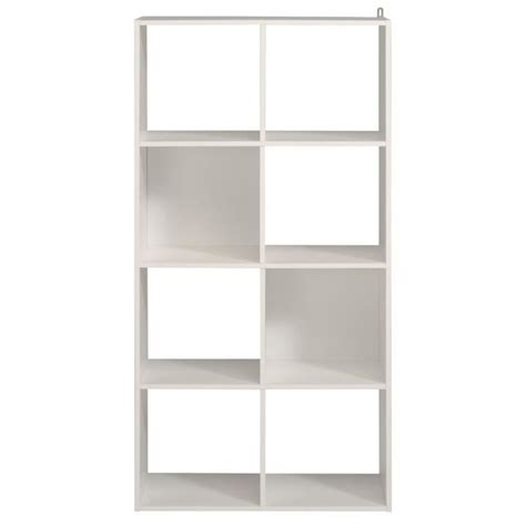 etagere 8 cases but cube de rangement etag 232 re 8 cases coloris blanc l61x h121