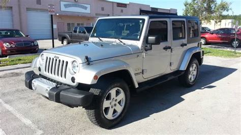 2010 jeep wrangler unlimited for sale in kendall
