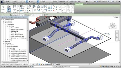 tutorial revit revit mep 2014 tutorial detailing in 3d revit