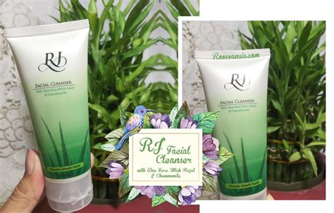 Sabun Rj Cni rj cleanser with aloe vera witch hazel chammomile