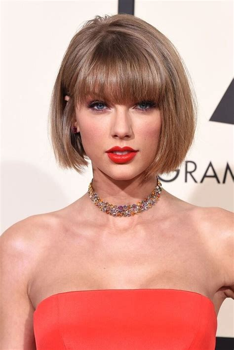 taylor swift new haircut taylor swift grammys haircut taylor swift new short bob