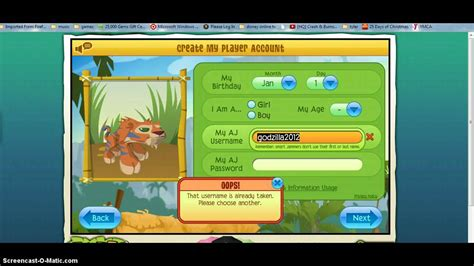 animal jam accounts that work 2016 animal jam unwanted member accounts 2016 february