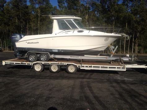 boat transport on trailer trailer boat transport world square new south wales