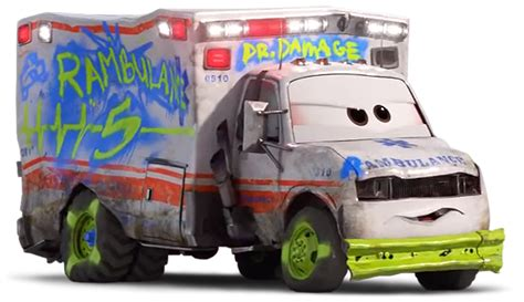 Doctor After Car 2 by Dr Damage World Of Cars Wiki Fandom Powered By Wikia