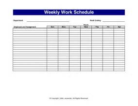 Free Printable Work Schedule Template Work Schedule Template Vnzgames