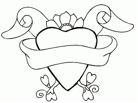 Imagenes De Amor Para Dibujar Y Escribir | corazones para colorear