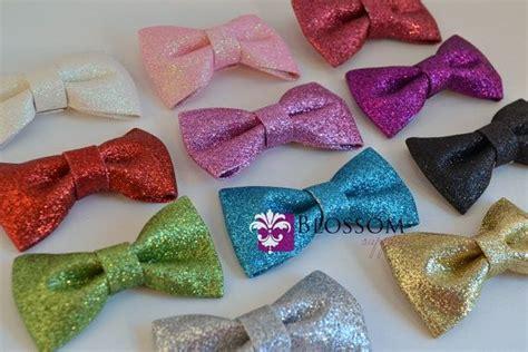 Headband Bayi Handmade Glitter Fuschia Bow new set of 5 glitter bows you colors diy bow headband wedding bridal bows