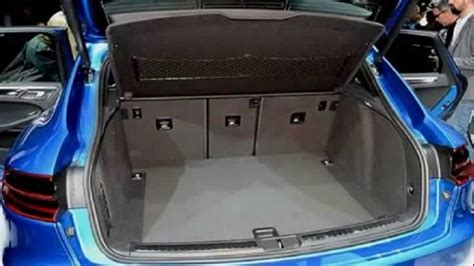 Porsche Macan Trunk Space by Porsche Macan Trunk 2 Youtube