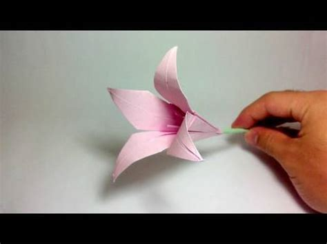 Origami Vedio - origami flower 100th