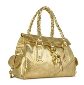 Win A Biasia Bag francesco biasia gold satchel snob essentials
