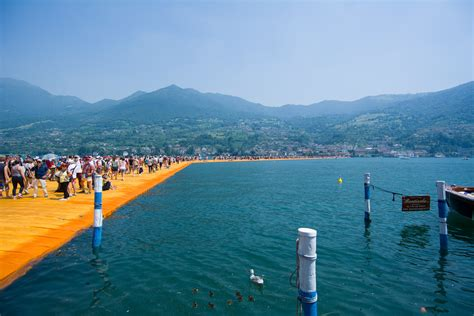 floating piers 100 floating piers paratico italy 18th june 2016