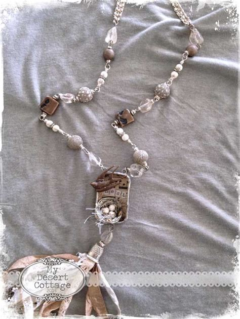 Cottage Jewelry by Desert Cottage Nest Necklace Jewelry