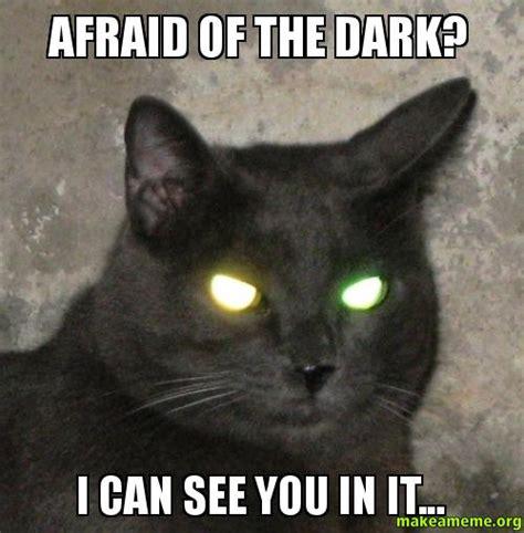 Afraid Meme - afraid of the dark i can see you in it make a meme