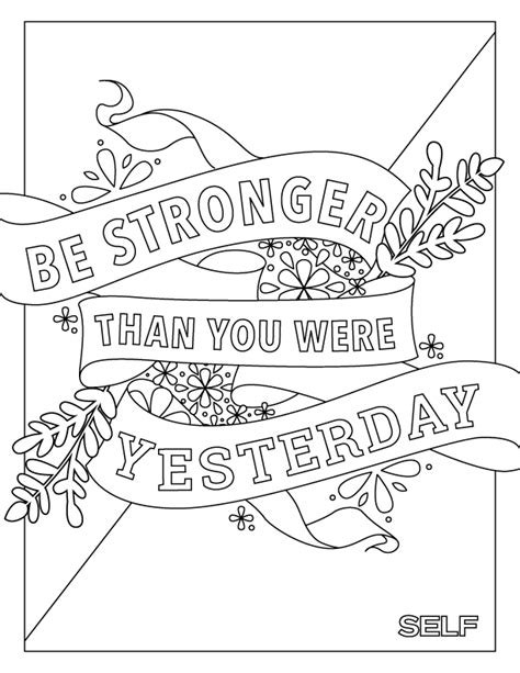printable wellness quotes mental health coloring pages murderthestout