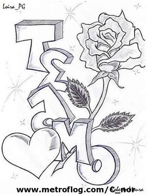 imagenes de amor para dibujar grafiti dibujos de graffitis de amor para pintar colorear im 225 genes