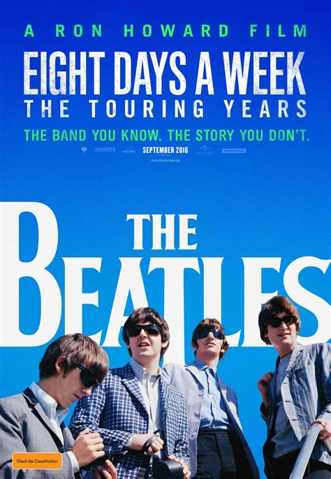 film 15 years and one day the beatles eight days a week the touring years