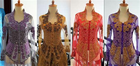 Kebaya Tile Payet Ba 061 jual kebaya pengantin ekor nikah pre wedding tile brokat