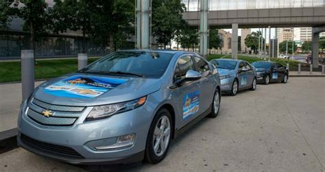 Mba Automobile by Chevrolet Volt Teams With Mbas Across America