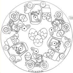 preschool easter egg mandala coloring 4 171 funnycrafts free start having fun again with these unique spring