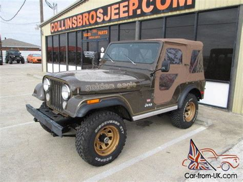 jeep cj golden eagle jeep cj golden eagle
