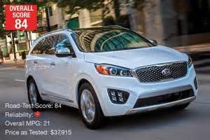 Kia Sorento Consumer Reports These Are The Best And Most Reliable 10 Cars Currently