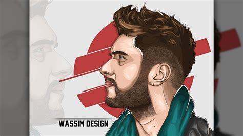 photoshop cc vector art hair tutorial youtube