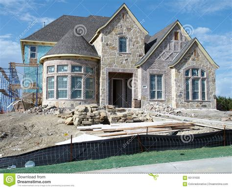 building a new home new home construction stock photo image 60131630