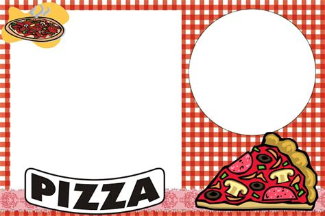 Pizza Birthday Card Template by Pizza Free Printable Invitations Oh My