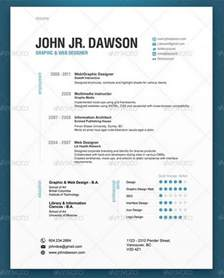 contemporary resume templates 30 modern and professional resume templates