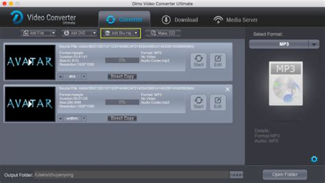 format audio mac can i rip or convert blu ray to mp3 audio format blu