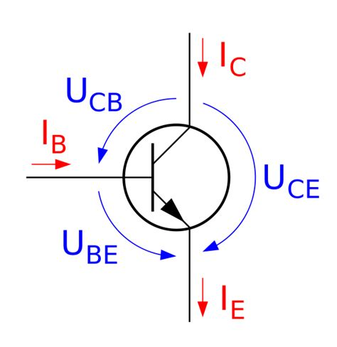 transistor pnp npn wiki datei transistor npn svg