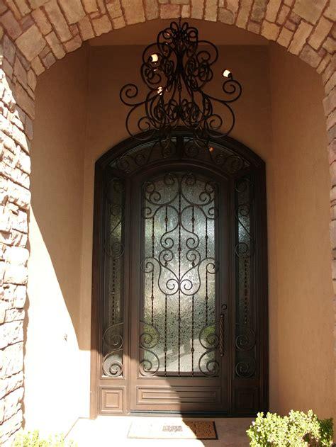 Iron Entry Doors In Phoenix Landmark Iron Design Iron Exterior Doors