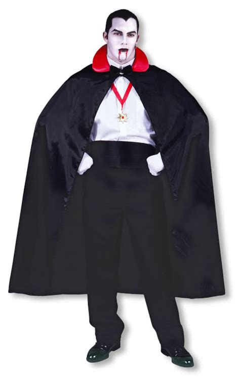 dracula cape with red collar vampire cape dracula costume
