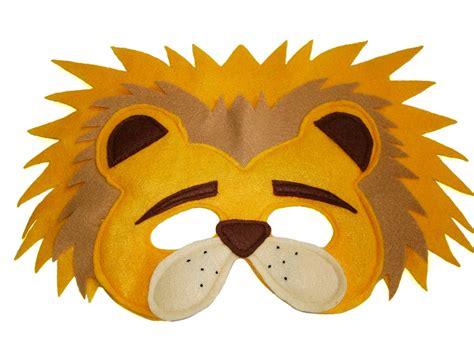 printable jungle animal face masks image gallery lion mask