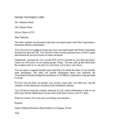 sample termination letter ipasphoto