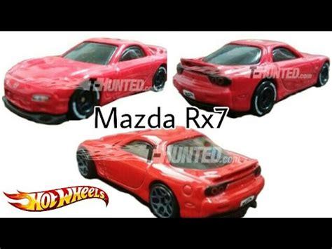 Hotwheels Reguler 95 Mazda Rx 7 Blue upcoming wheels 2017 mazda rx7