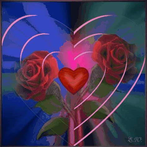 imagenes de rosas y corazones brillantes imagenes de rosas con corazones brillantes imagui